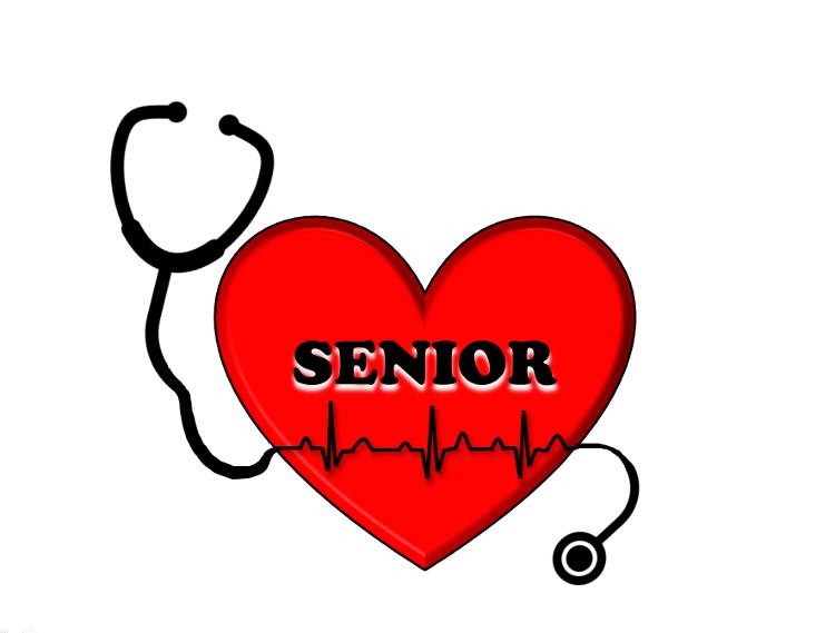 "serce z napisem ""senior"""