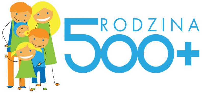 Logo - świadczenie wychowawcze Rodzina 500+