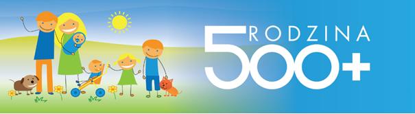 Logo: Rodzina 500 +