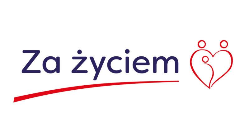"""Logo """"Za życiem"""""""