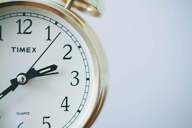 Zdjęcie fragmentu zegara
