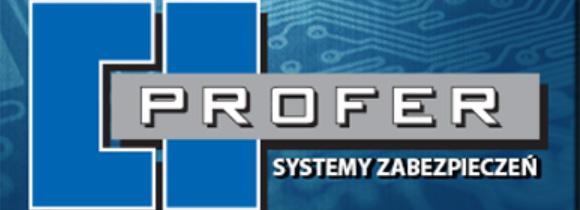 logotyp firmy Profer - systemy zabezpieczeń