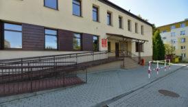 Budynek Działu Profilaktyki Środowiskowej Ośrodka Pomocy Społecznej w Andrychowie przy ul. Metalowców 10