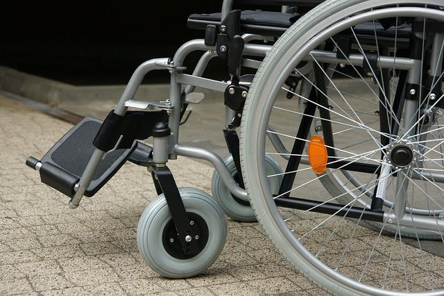 Zdjęcie wózka inwalidzkiego